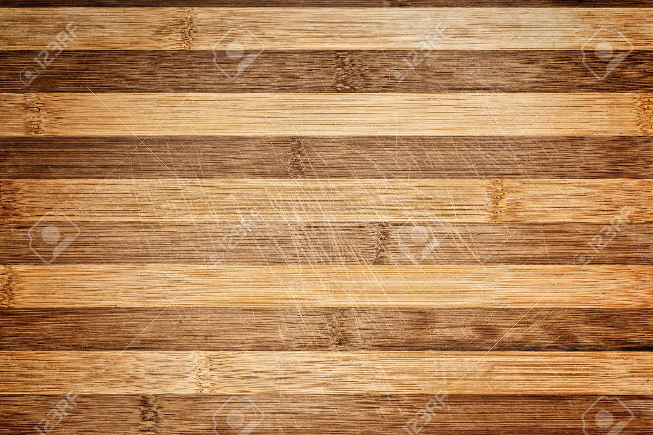 Worn butcher block cutting and chopping wooden board as background. Wood texture. - 30623015