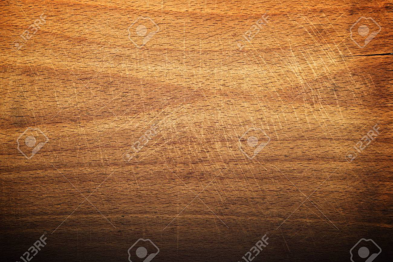 Worn butcher block cutting and chopping wooden board as background. Wood texture. - 31285869