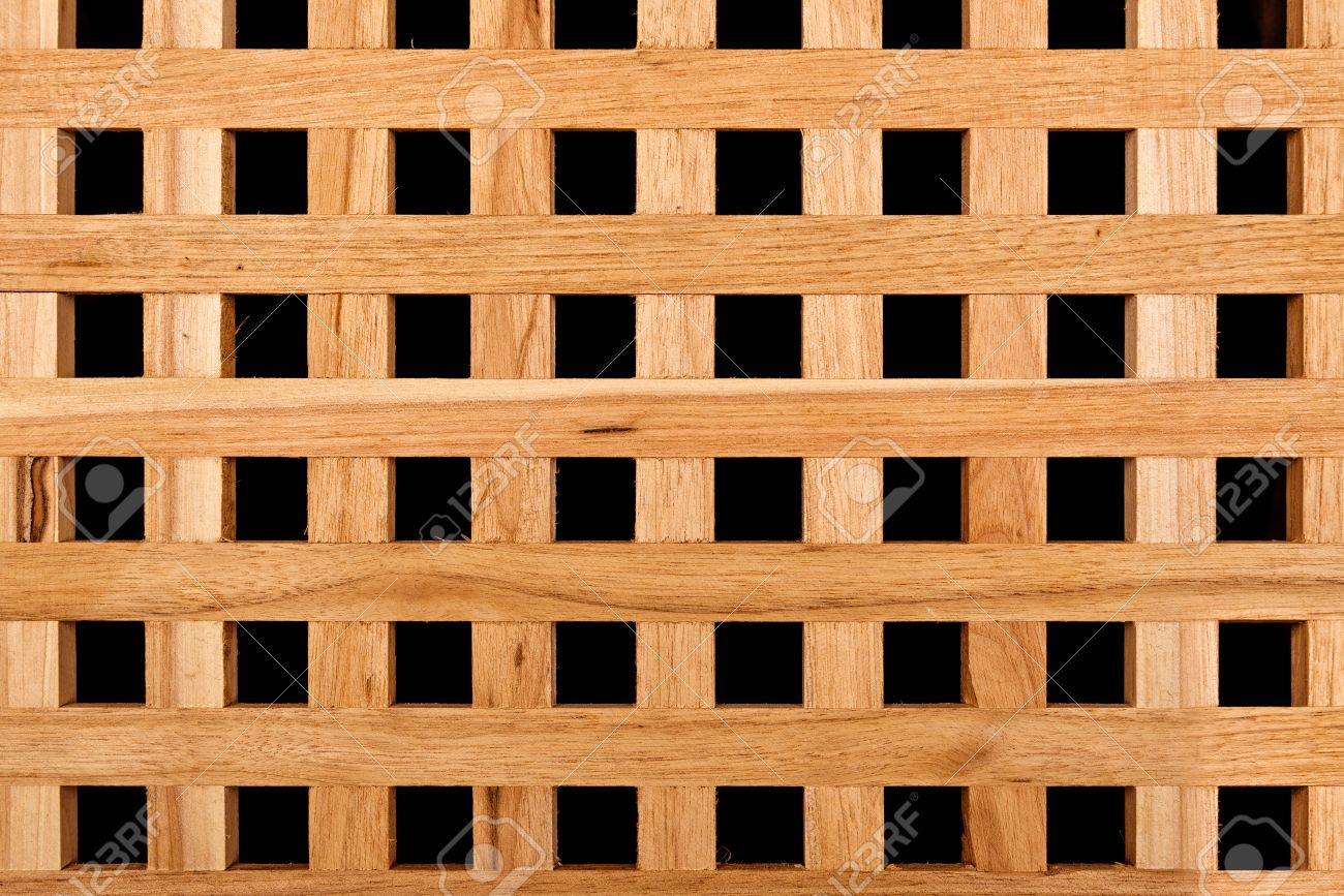 Spruce Square Wooden Timber Lattice Panel Fence Texture Pattern Stock Photo  - 35178483 - Spruce Square Wooden Timber Lattice Panel Fence Texture Pattern
