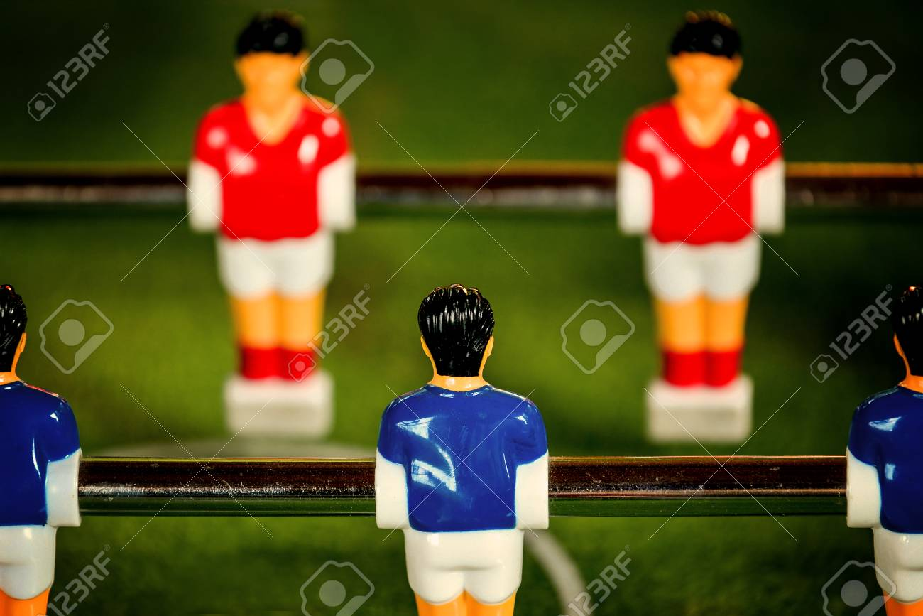 efdeb26fc Stock Photo - Vintage Foosball
