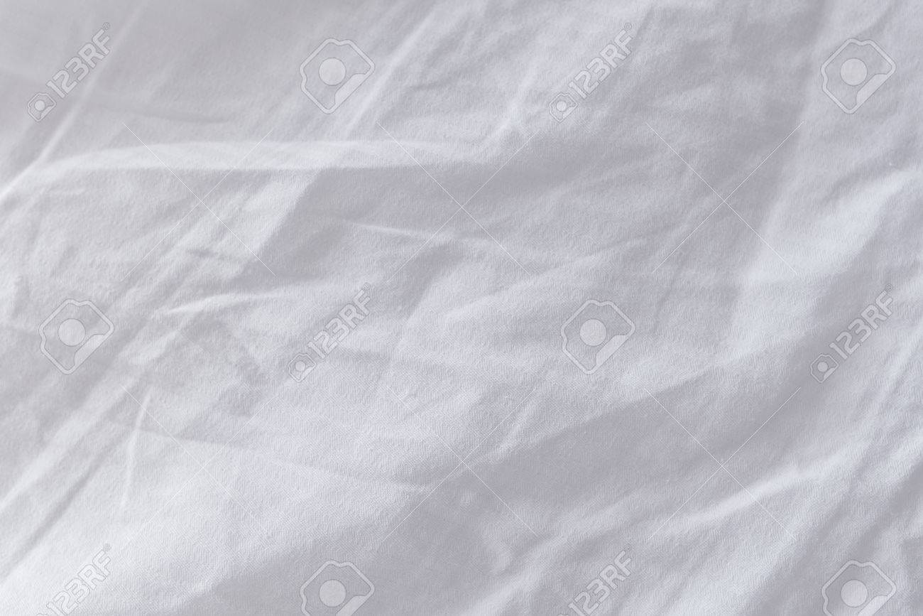 bed sheets texture. Crumpled Bed Sheets Texture As Background, Top View Stock Photo - 65447618