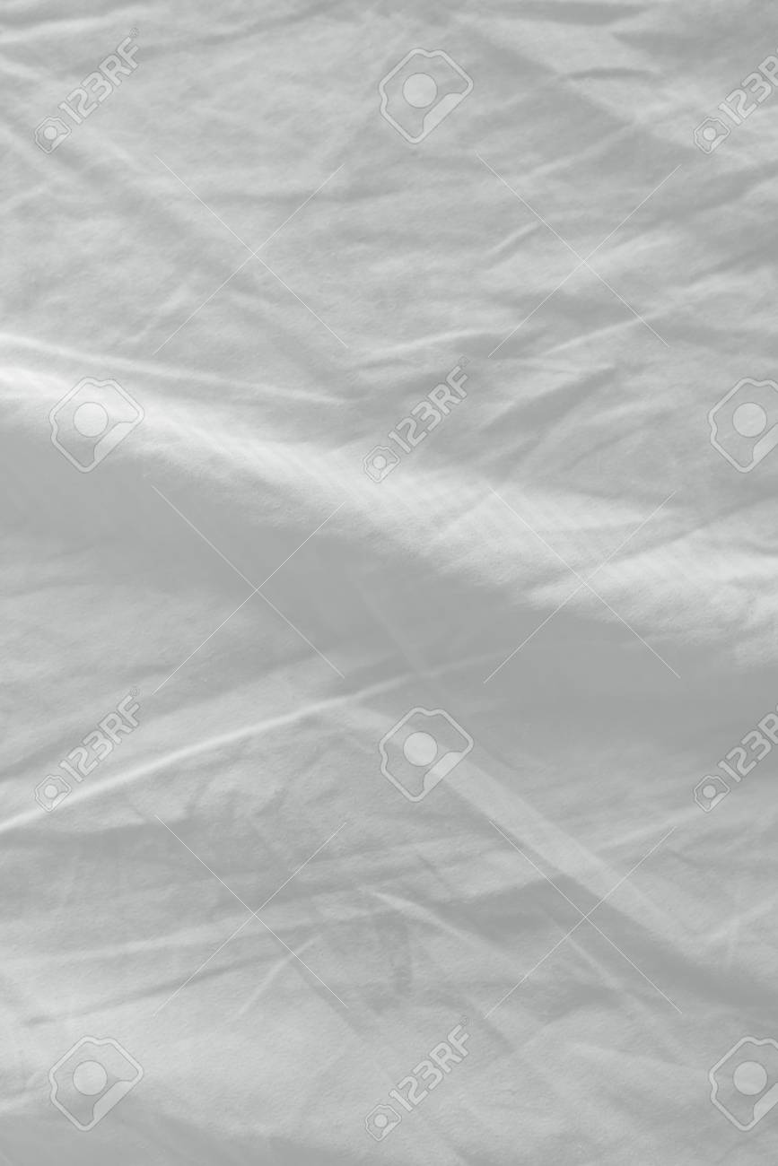 white bed sheets texture. Contemporary White Stock Photo  Used Bed Sheets Texture Clean White Crumpled Cotton Material  Surface Intended White Bed Sheets Texture K
