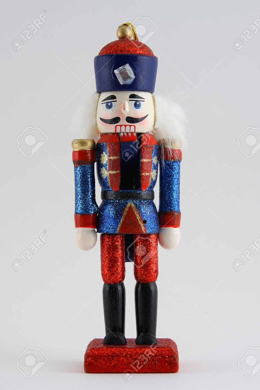 Nutcracker To Soldier Christmas Ornament Stock Photo, Picture And ...