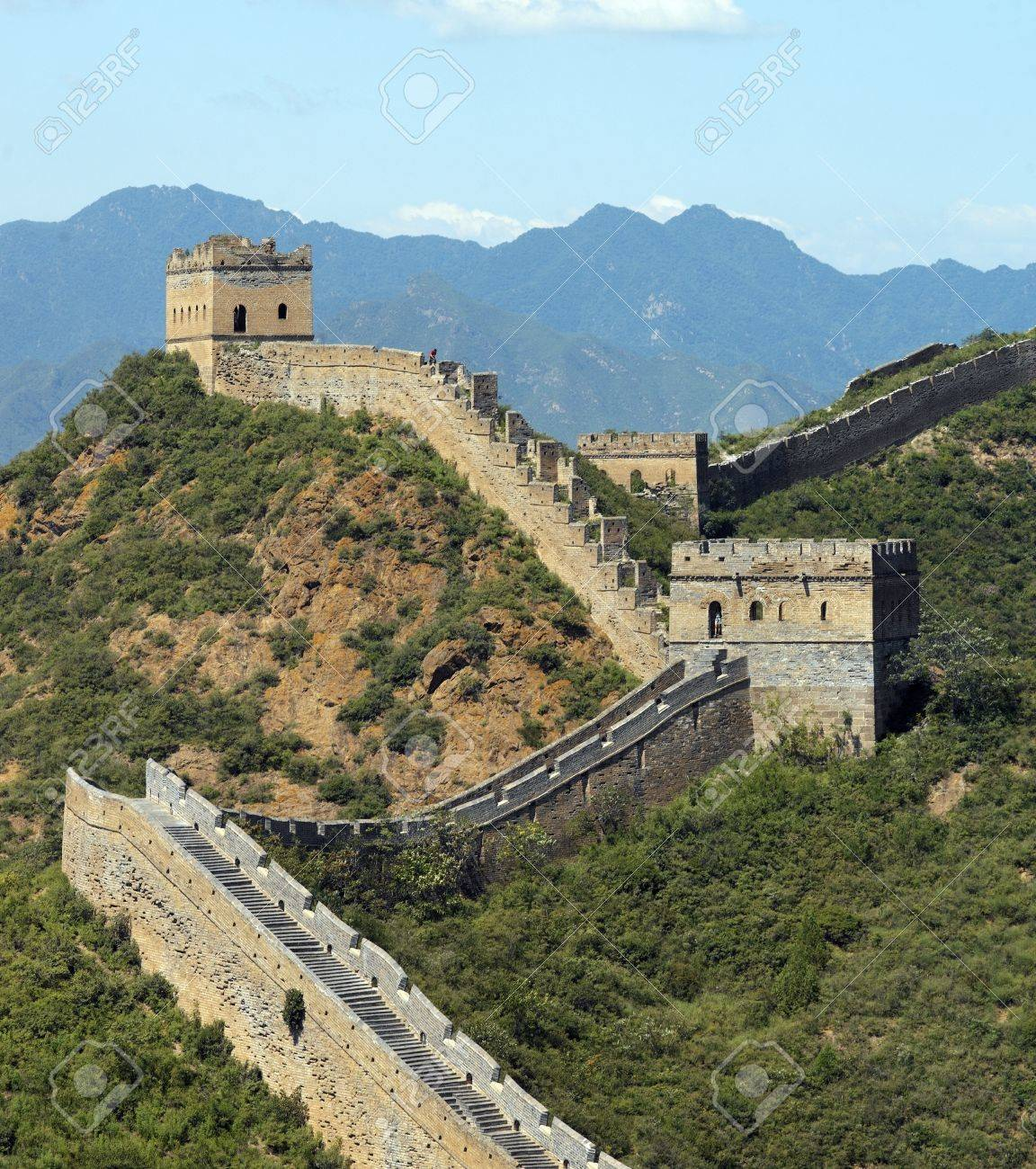 The Great Wall of China at Jinshanling near Beijing in the Peoples Republic of China - 20415046