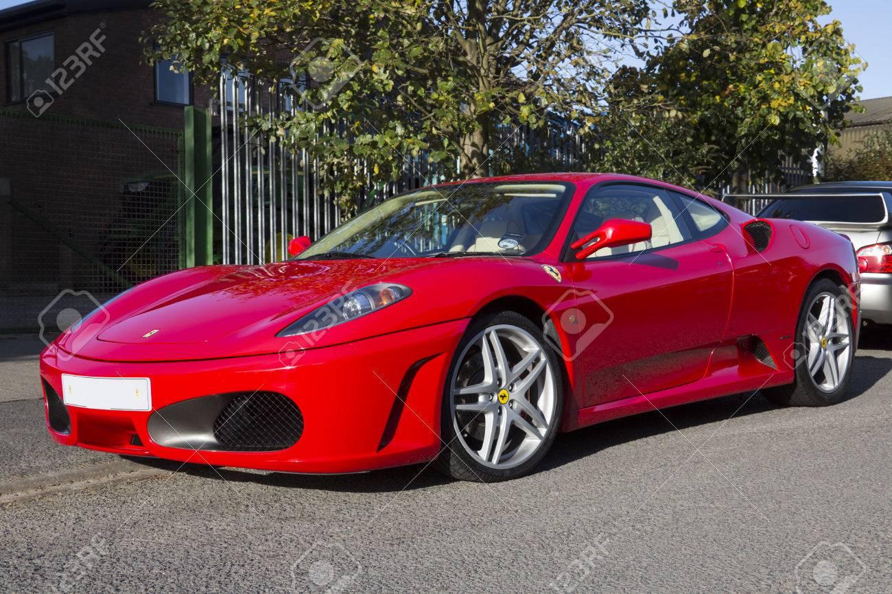 The Ferrari F430 Sportscar Is Powered By A 4 3 Liter V8 Petrol ...