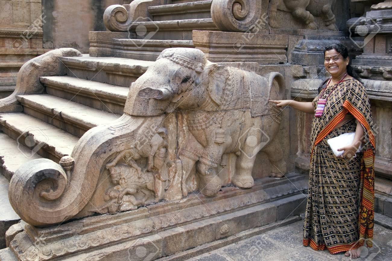 Brihadishvera Hindu Temple in the city of Thanjavur (Tanjore)