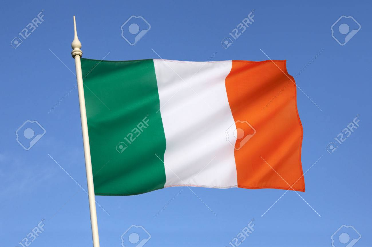 the national flag of ireland frequently referred to as the irish