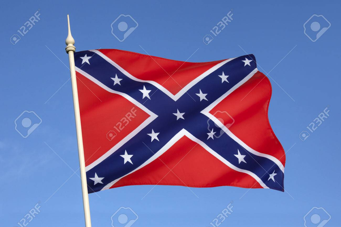the confederate army battle flag despite never having historically