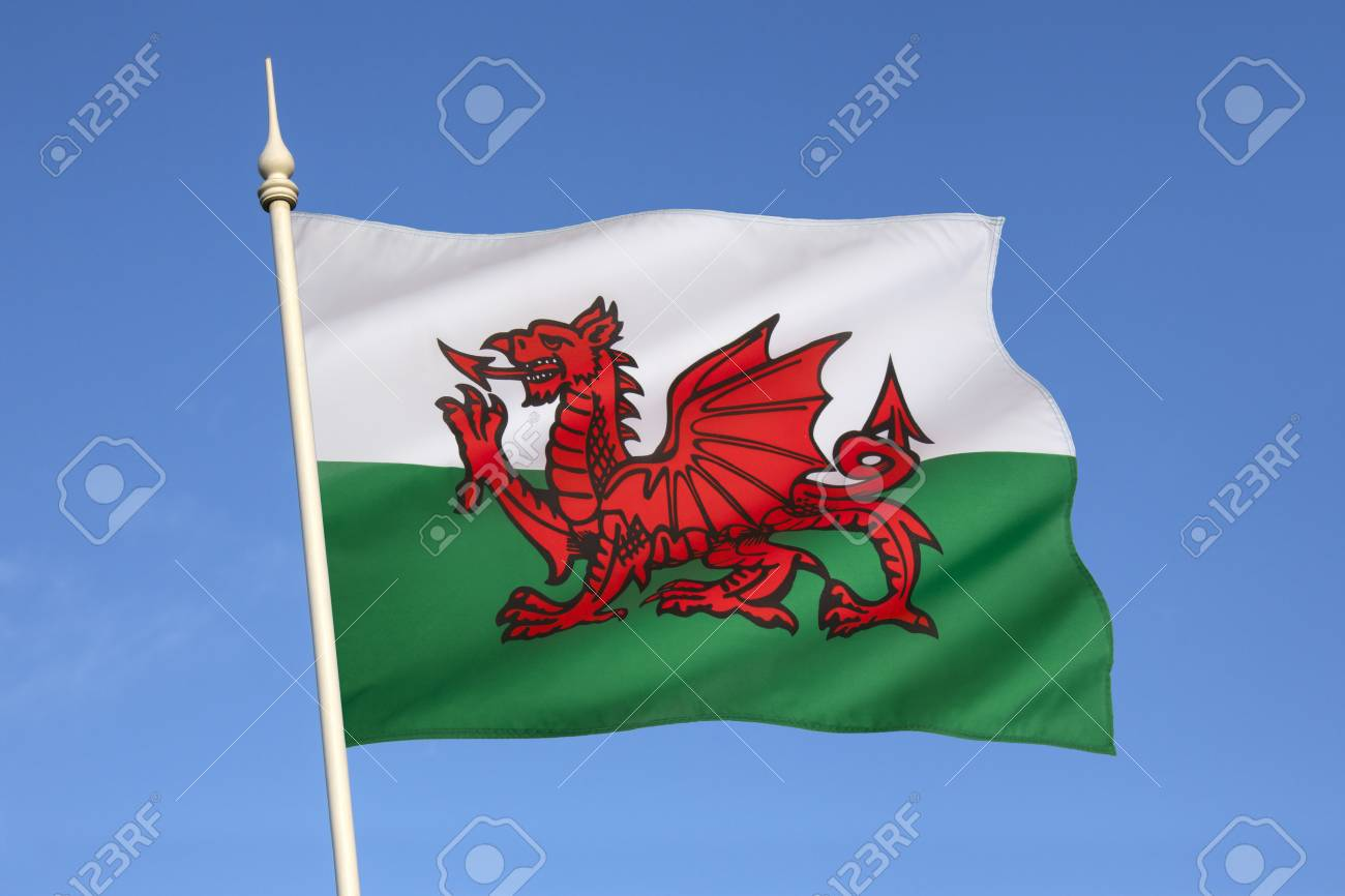 The Flag Of Wales In The United Kingdom The Flag Incorporates ...