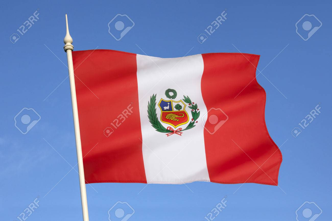 the national flag of peru was adopted by the government of peru