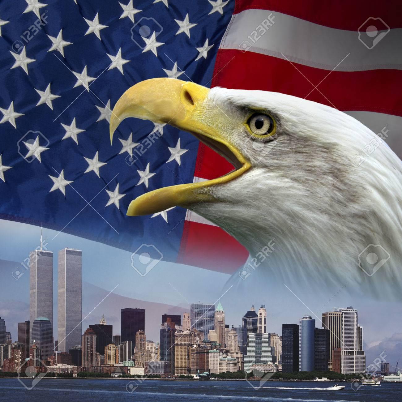Patriortic symbols to remember 9-11 - 24528431