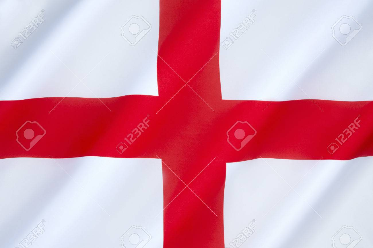 flag of england the association of the red cross as an emblem