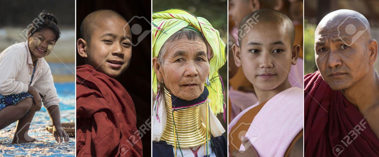 Burmese People Photos Gallery, Myanmar Travel Photos