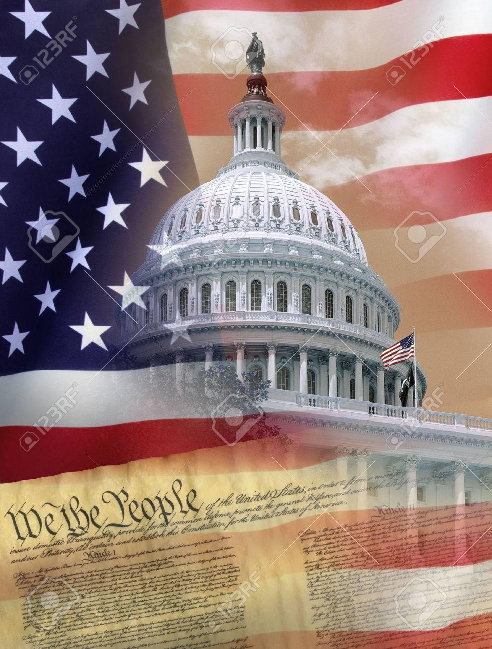 Washington DC - Symbols of the United States of America - 39333494