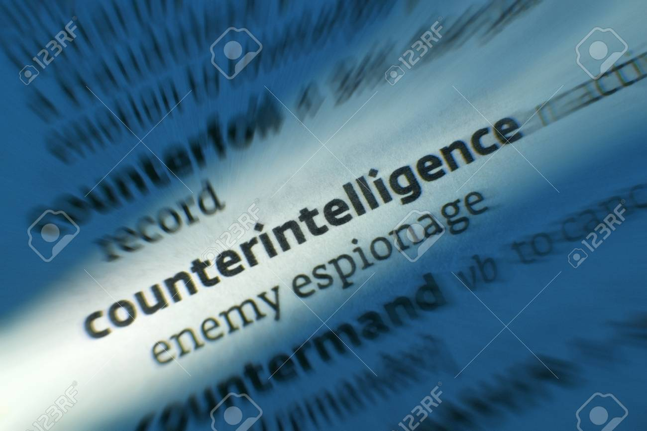 Counterintelligence - Dictonary Definition. Counterintelligence and espionage are activities designed to prevent or thwart spying, intelligence gathering, and sabotage by an enemy. - 39333532