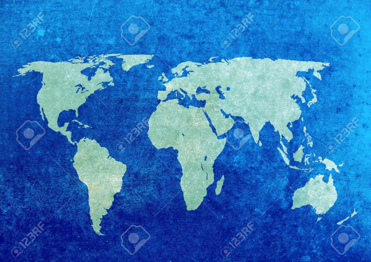 Blue and green grunge world map background stock photo picture and blue and green grunge world map background stock photo 5465836 gumiabroncs Choice Image