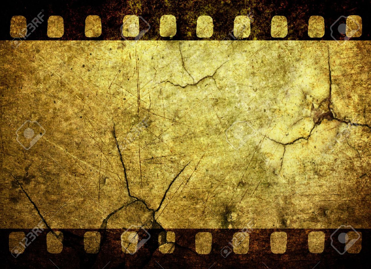 Vintage Grunge Film Strip Background Stock Photo Picture And