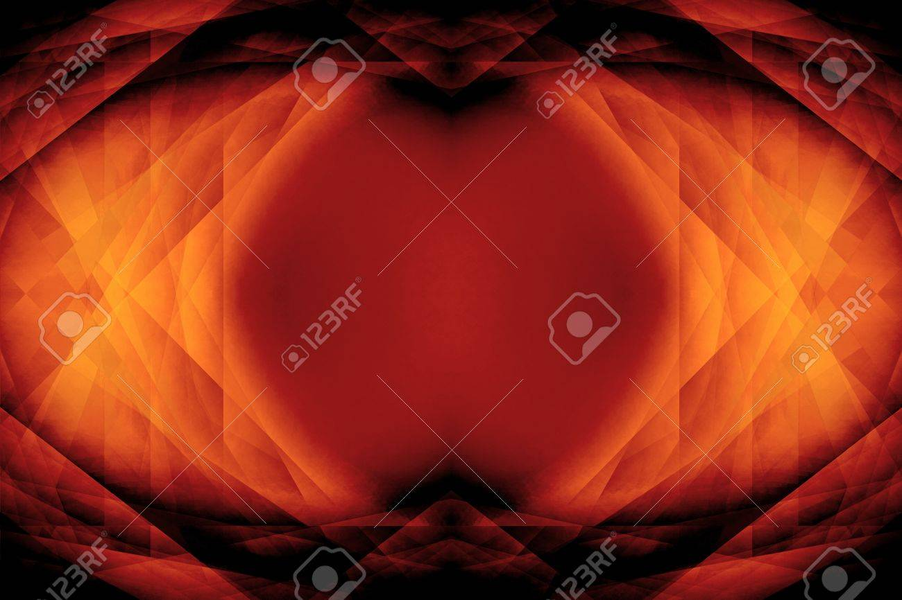 Dark orange gothic science fiction eye background Stock Photo - 15496400