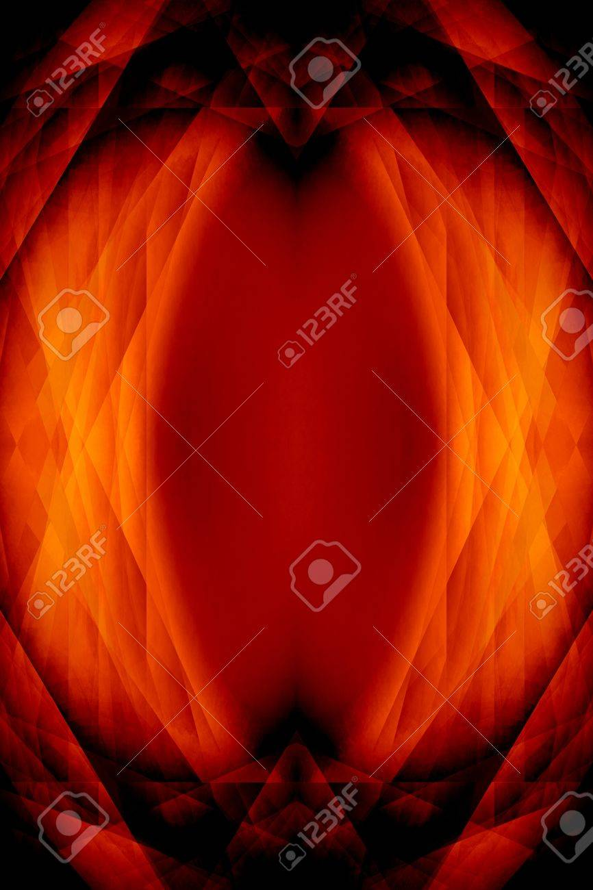 Dark orange gothic science fiction eye background Stock Photo - 15496401