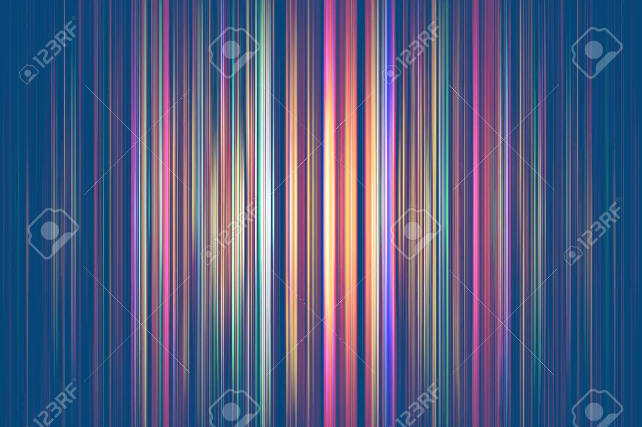 Colourful light streaks on a blue background - 59021147