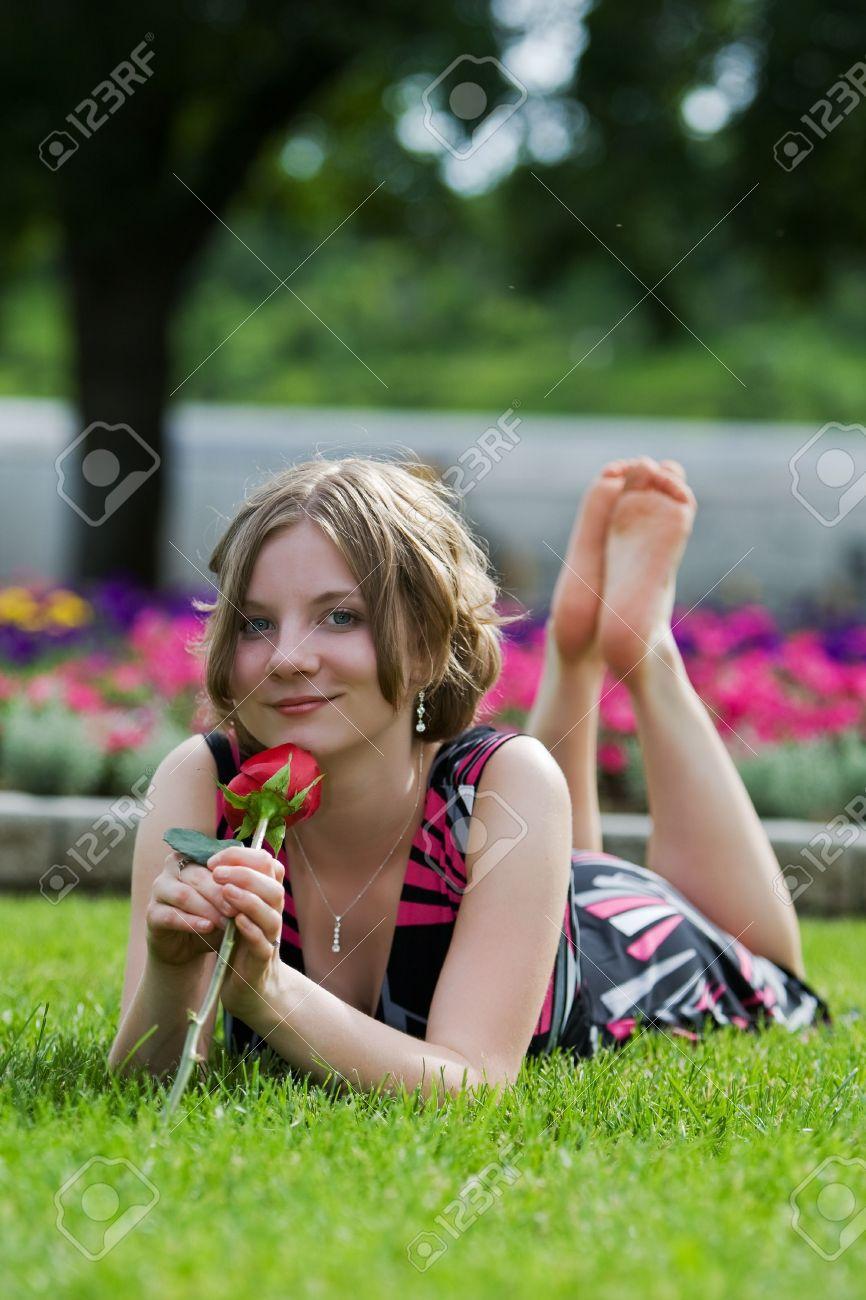 Sexy teen nude seductive