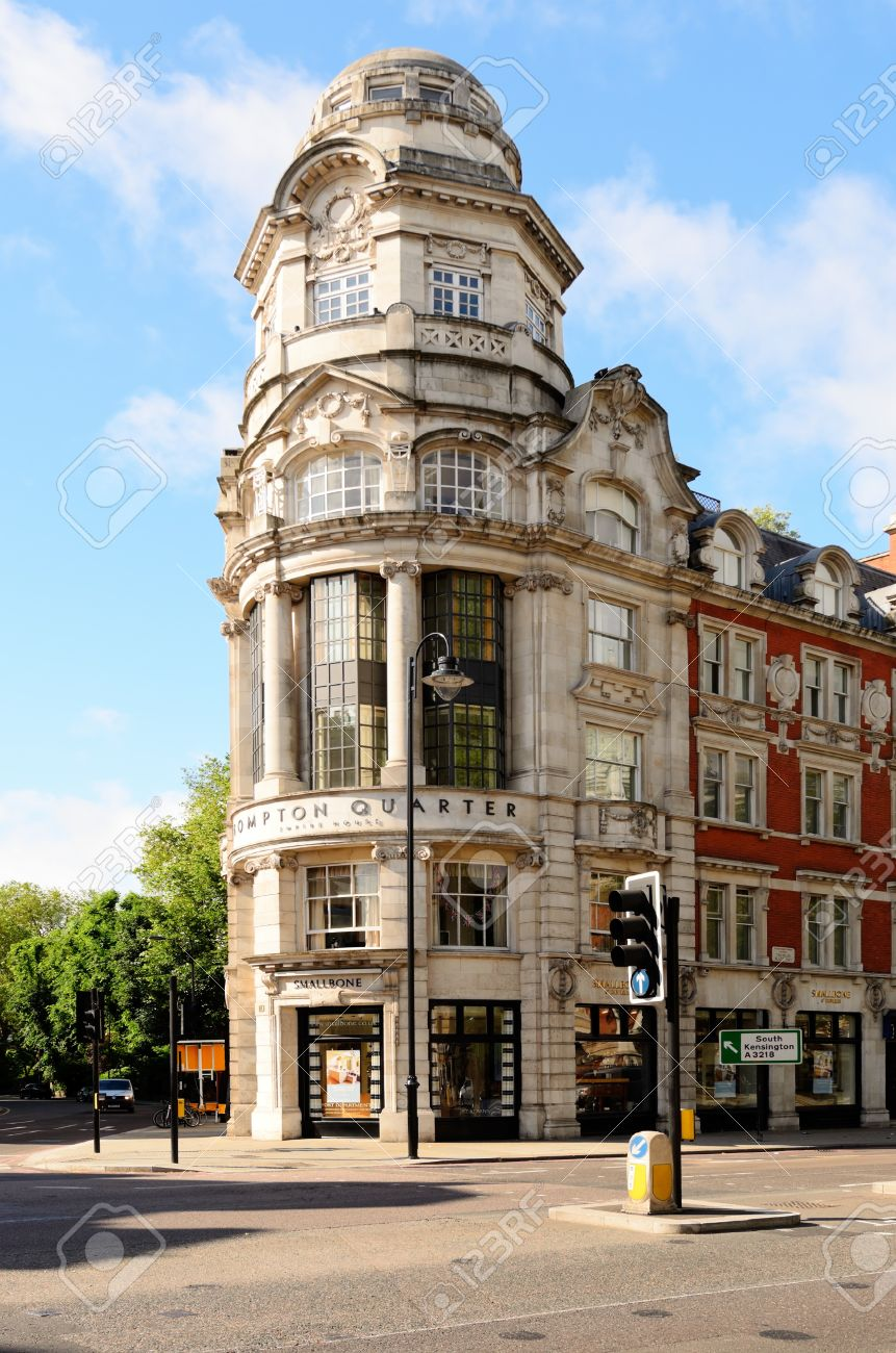 London, England   June 30th, 2012: Empire House In The Brompton Quarter  South