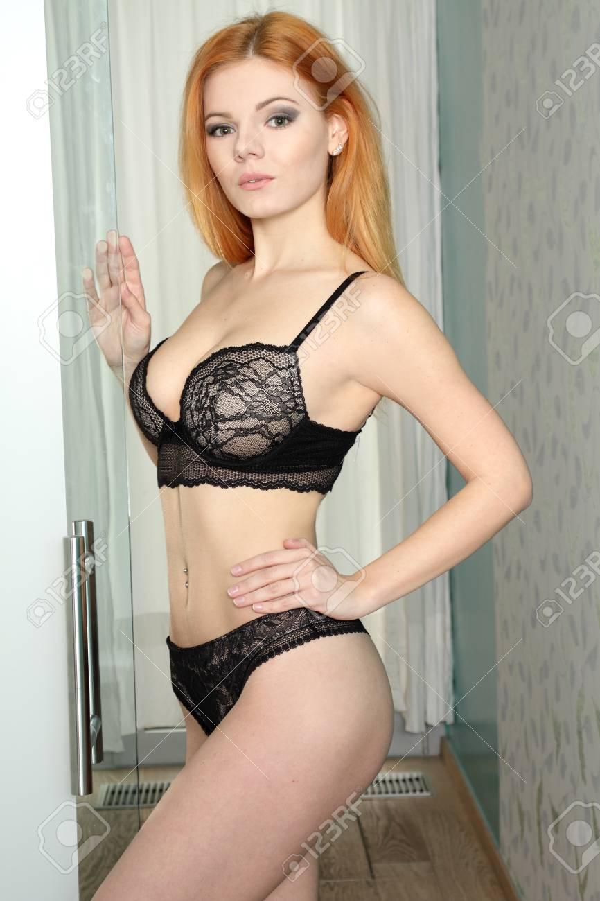 Sexy redhead body
