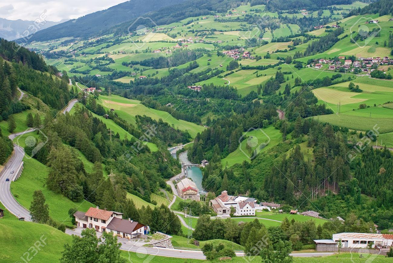 Image result for village straddling river