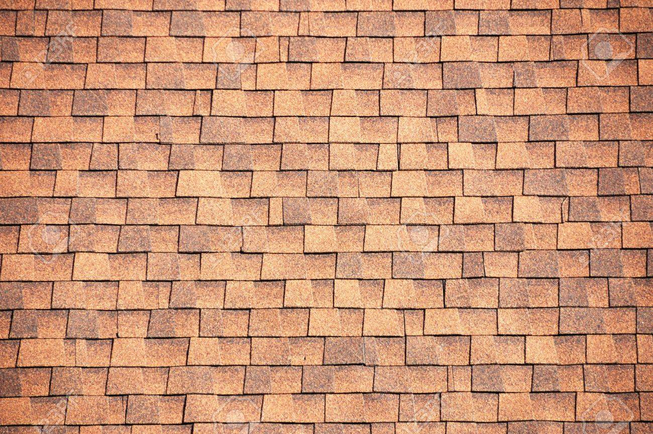 Pictures of roof shingles - Brown Roof Shingles Background Stock Photo 4914554