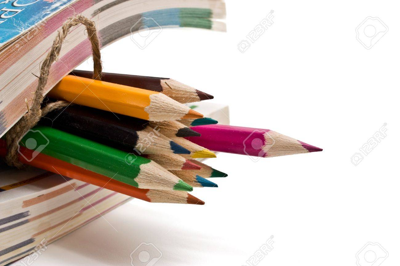 book and pencils Stock Photo - 6659174