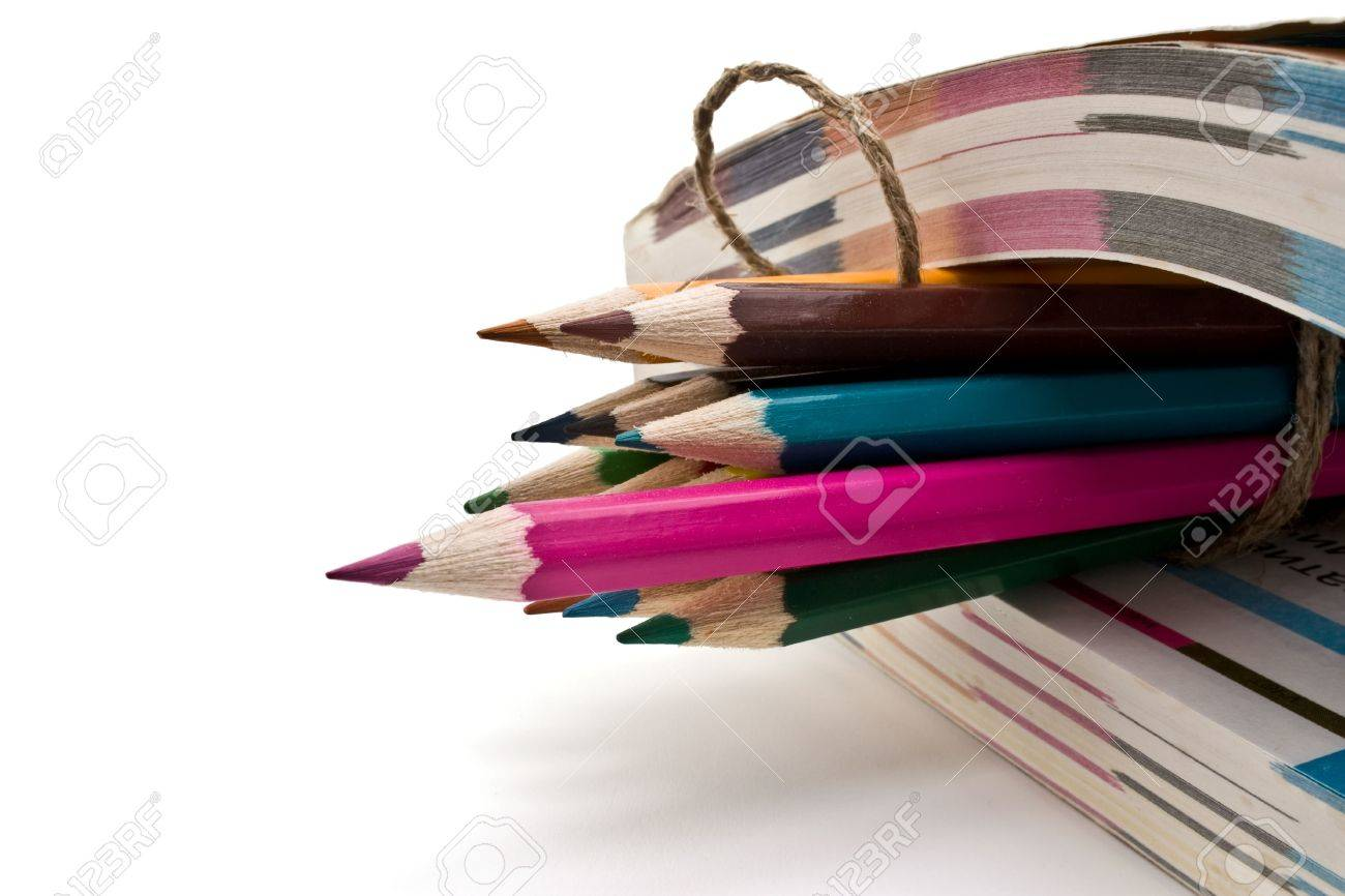 book and pencils Stock Photo - 6789978