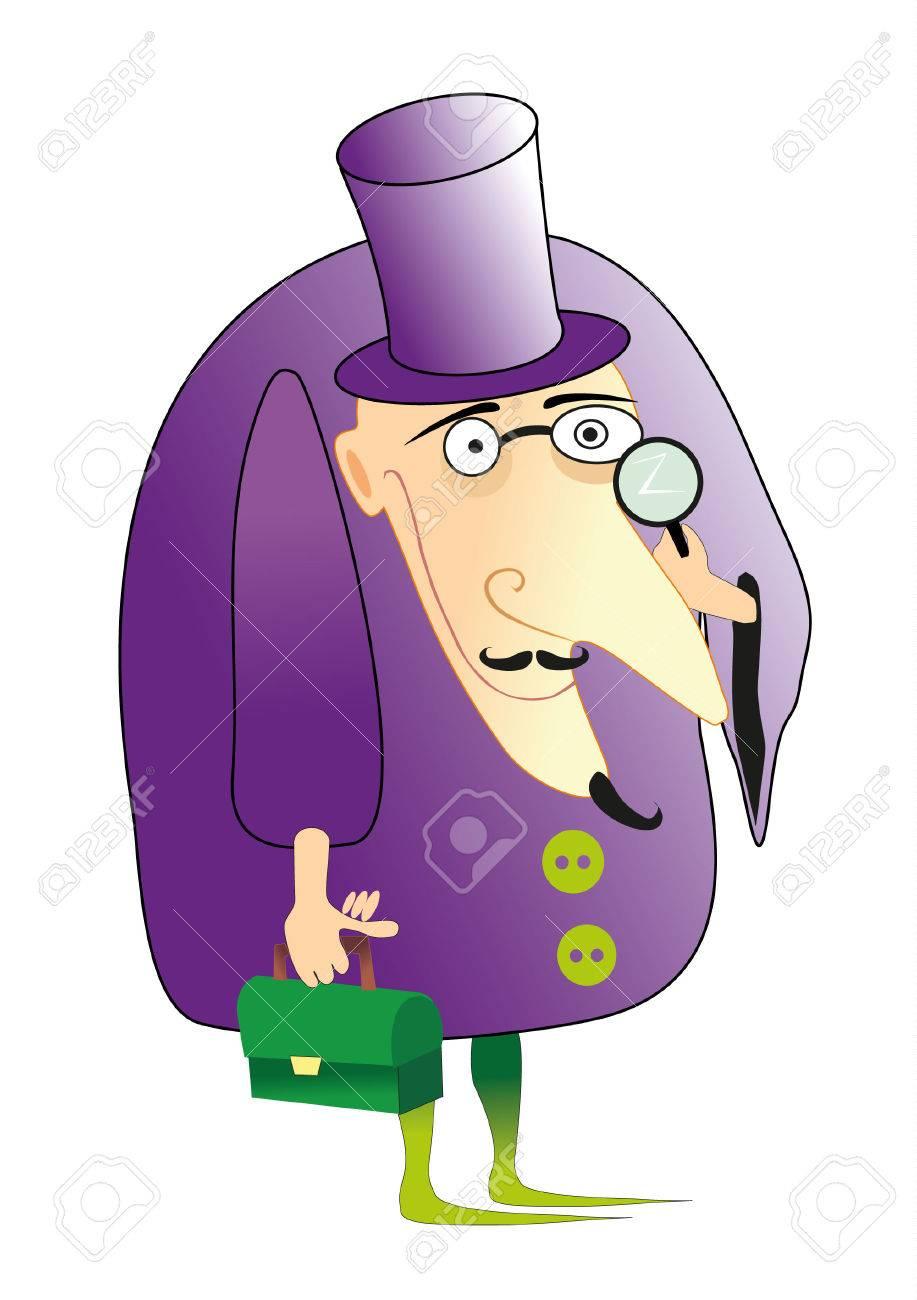 detective Stock Vector - 7925314