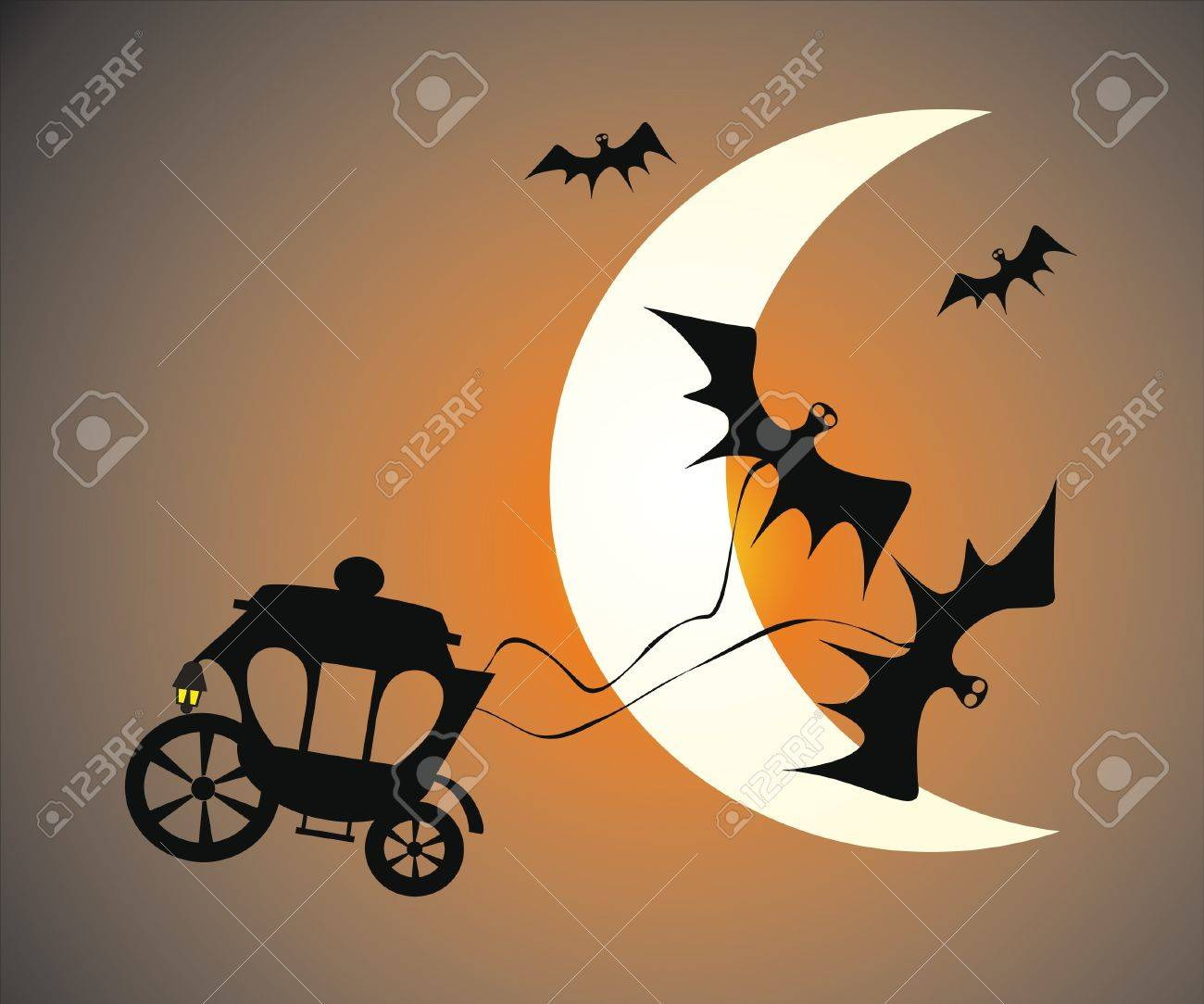 horror illustration Stock Vector - 8342362