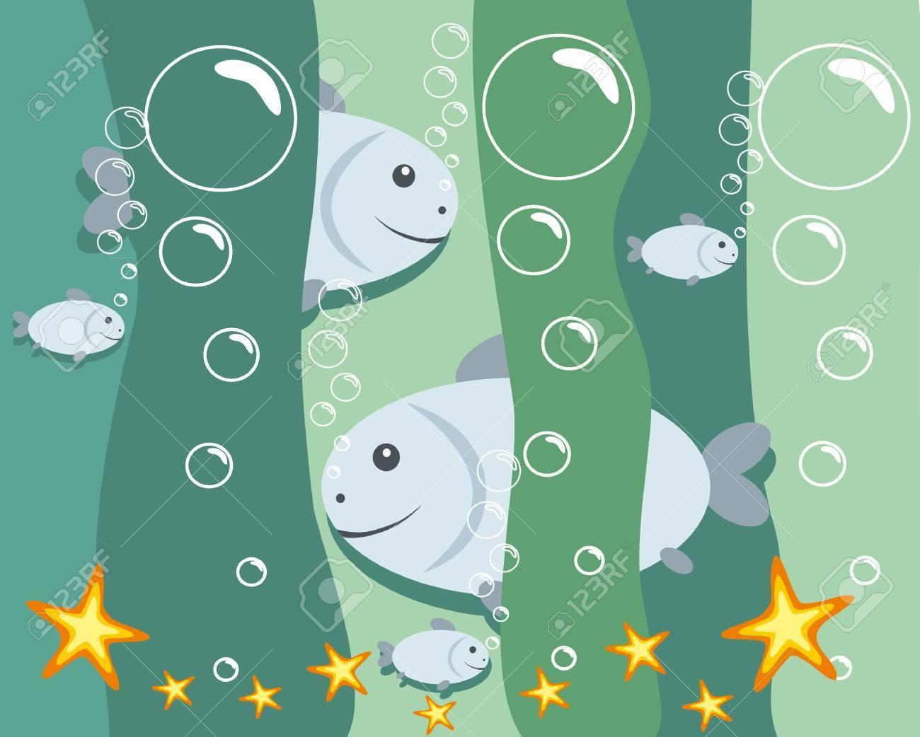 vector illustration: fish Stock Vector - 10102230