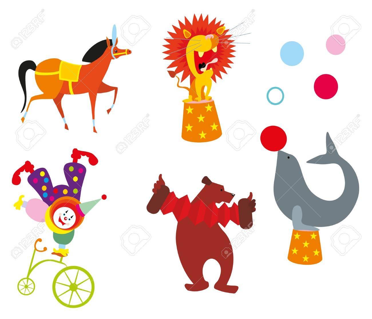 circus animal Stock Vector - 10200166