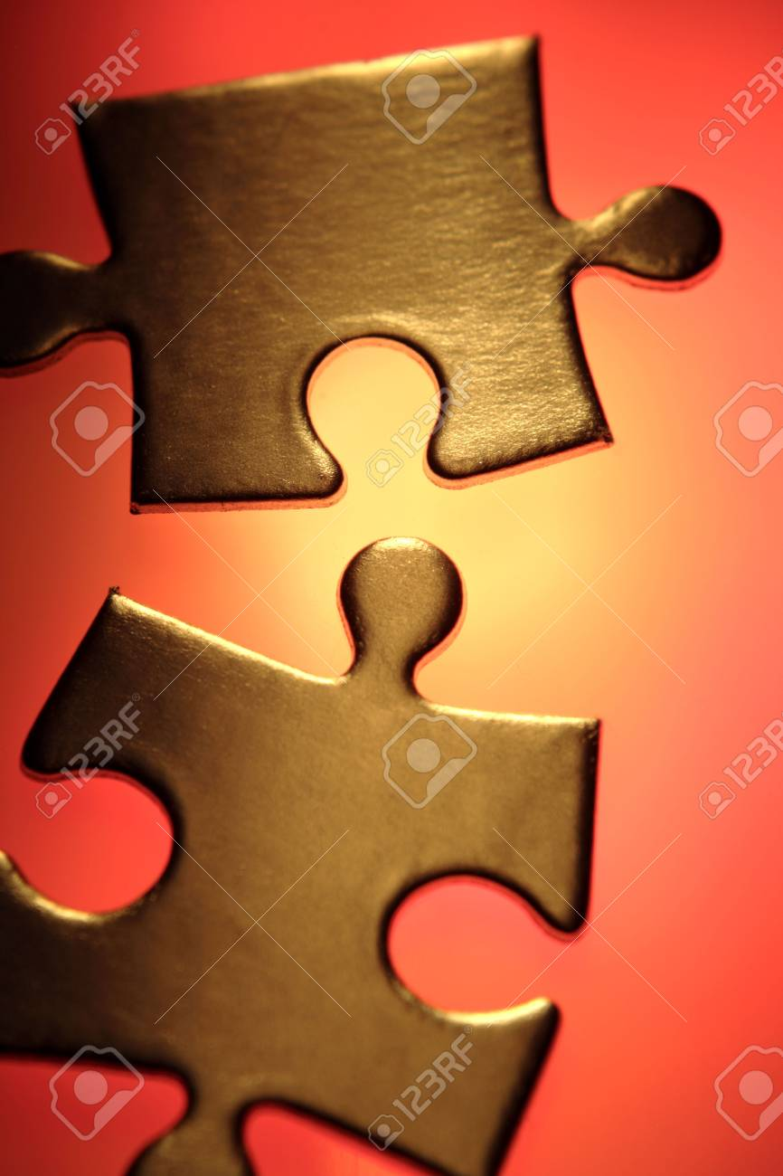 Jigsaw puzzle pieces Stock Photo - 4617967