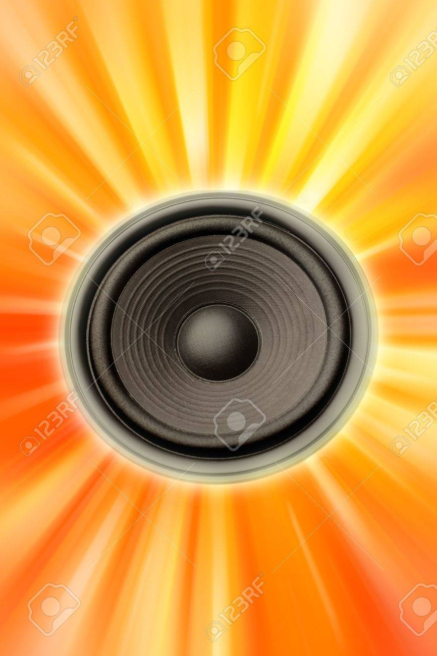 Speaker Stock Photo - 5416441