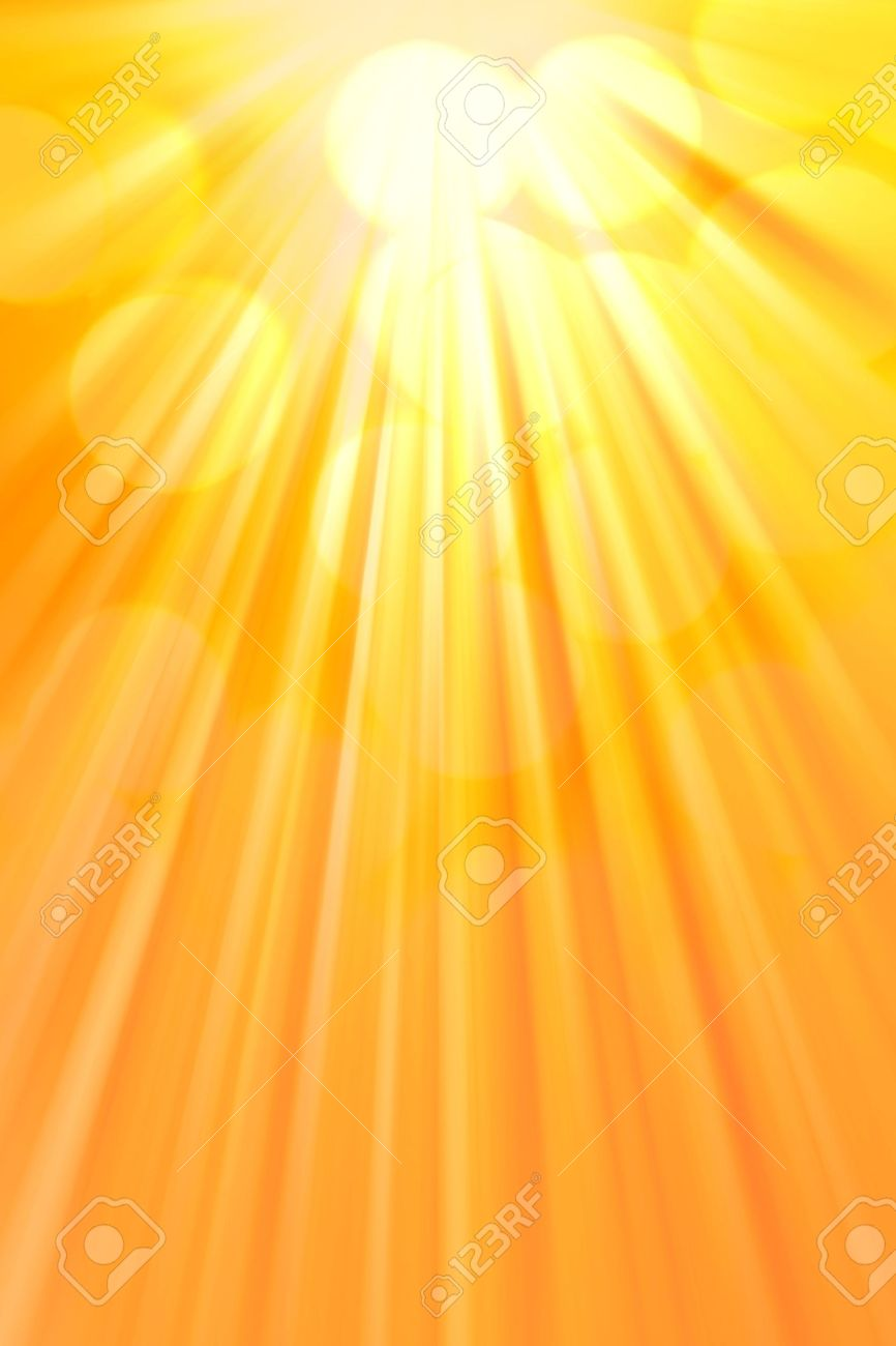 Bright Rays Of Warm Light. Abstract Vertical Background Stock ... for Yellow Light Rays Background  113cpg