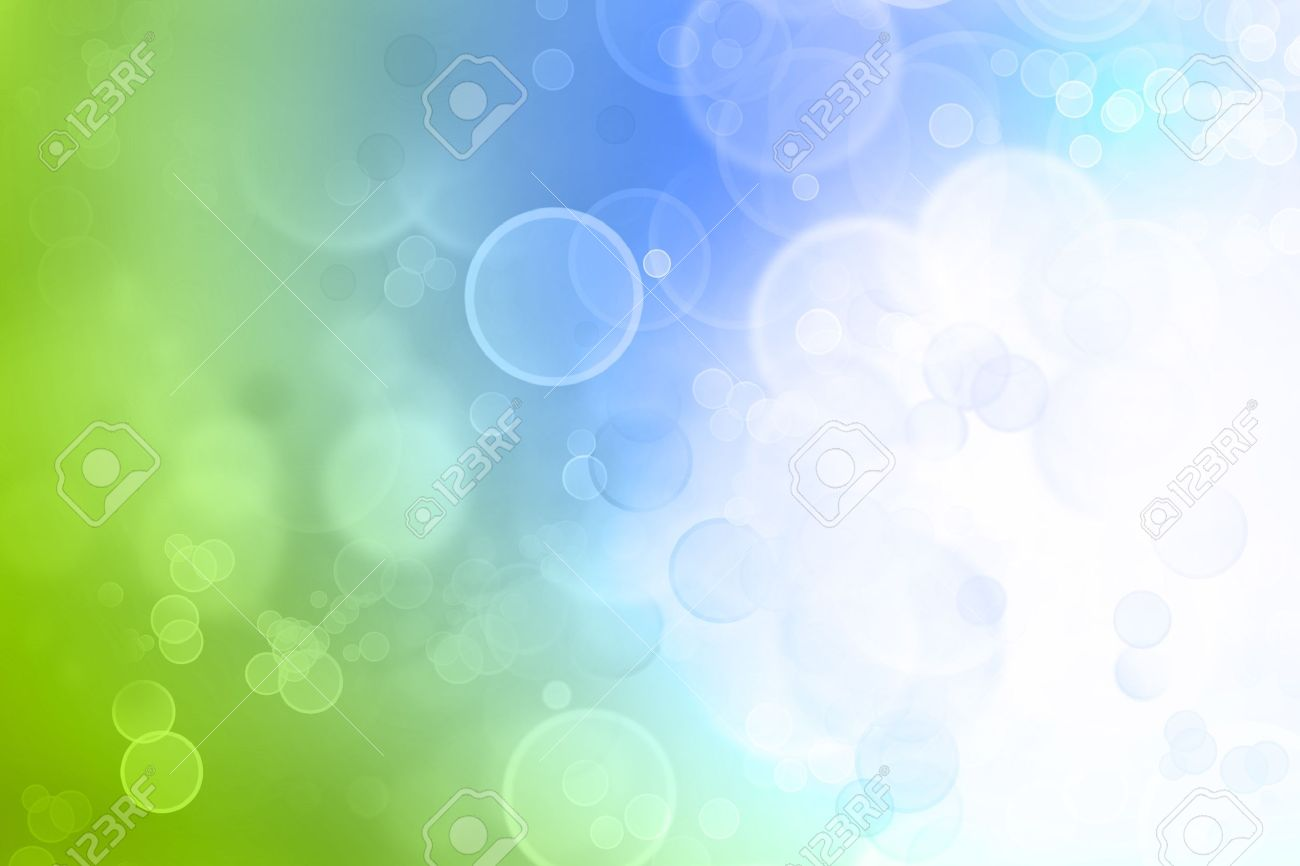 Blurry abstract green and blue tones background Stock Photo - 9070218