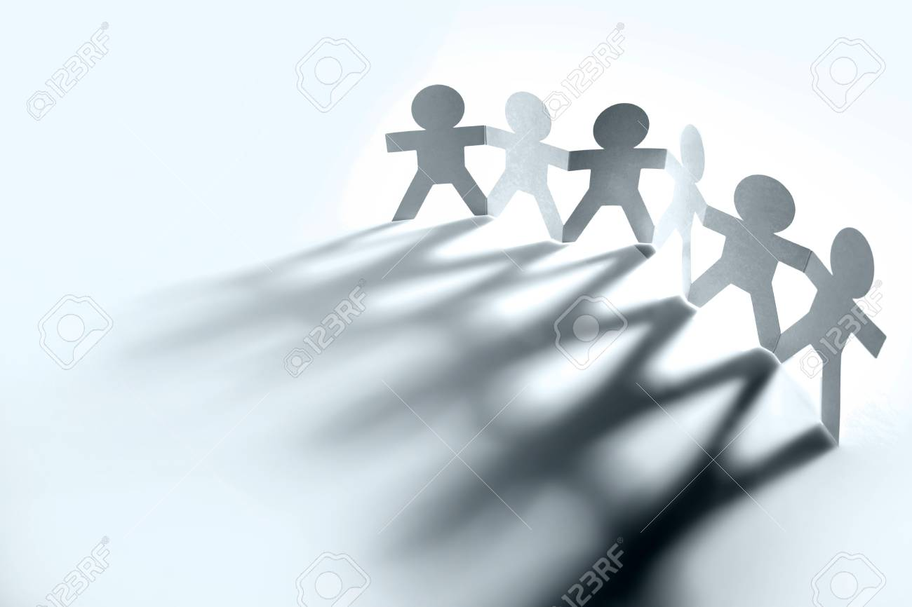 Group of people holding hands Stock Photo - 9896503