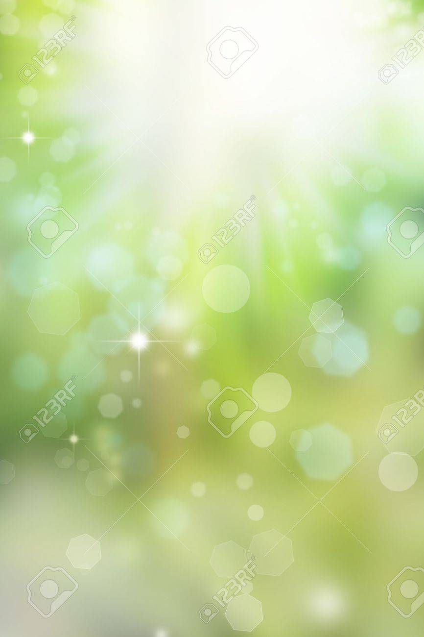 Abstract green and blue background Stock Photo - 10425564