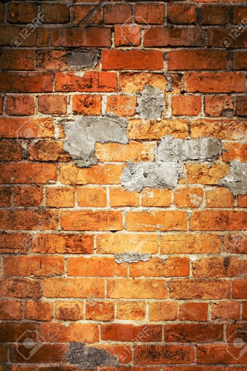 Closeup of bricks in wall Stock Photo - 11025349