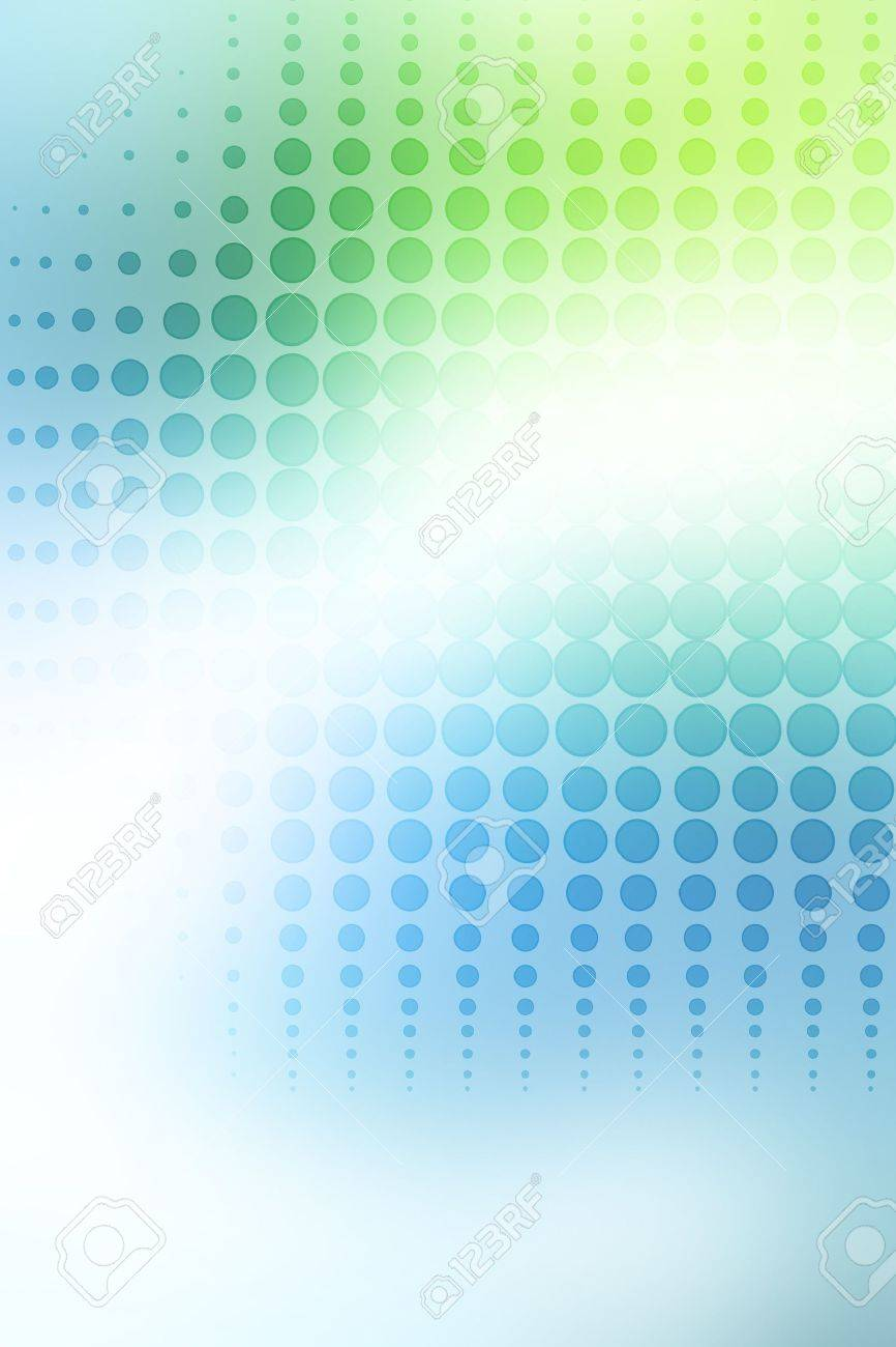 Abstract green and blue background Stock Photo - 11531732