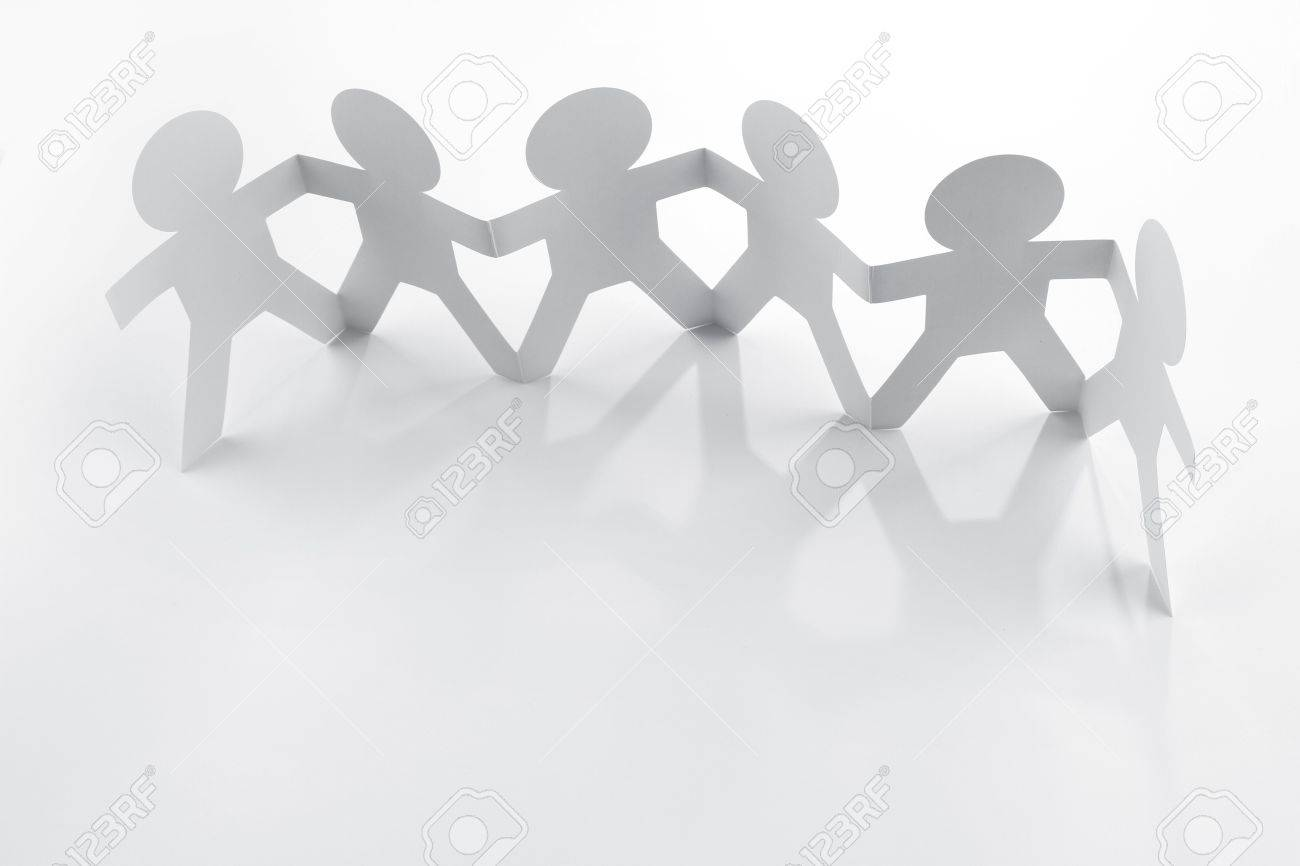 Group of people holding hands Stock Photo - 13197079