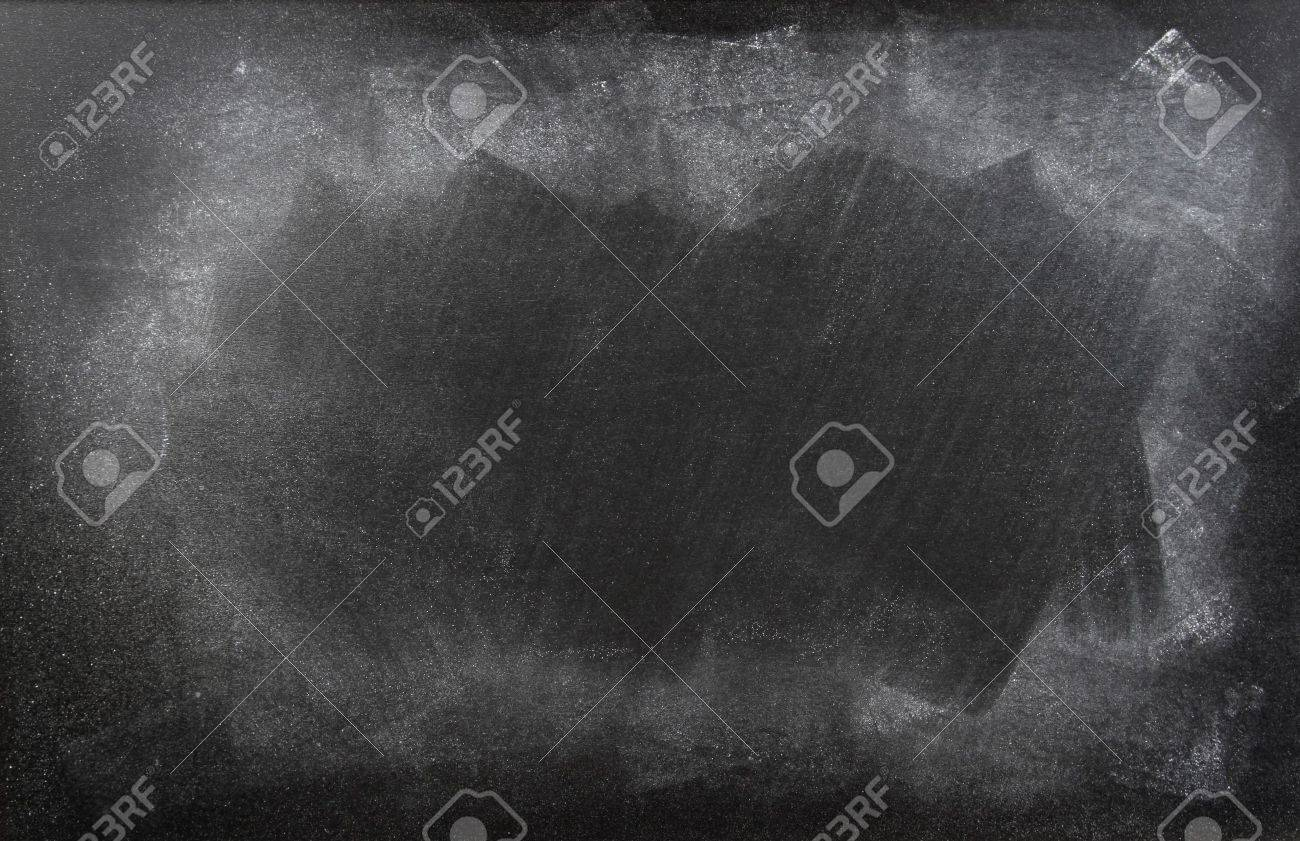 Rubbed out chalk on blackboard Stock Photo - 13681419