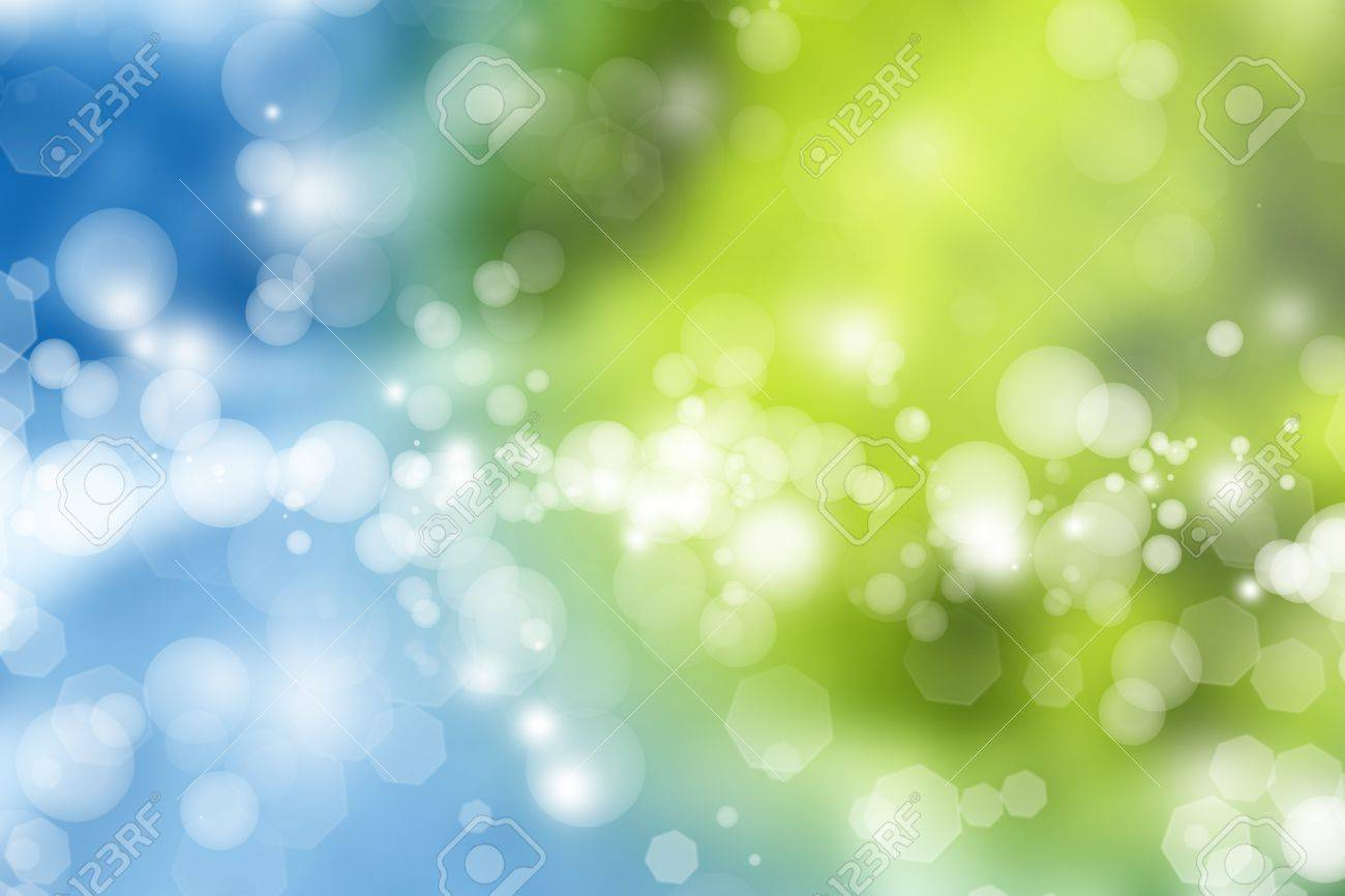 Abstract blue and green tone background - 14282686