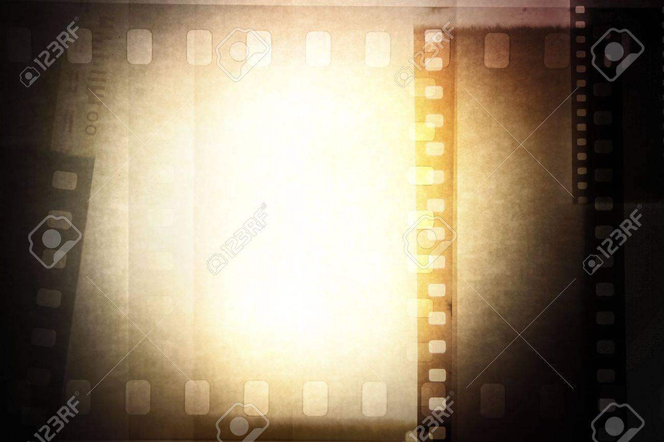 Grungy film negative background, copy space Stock Photo - 14492804