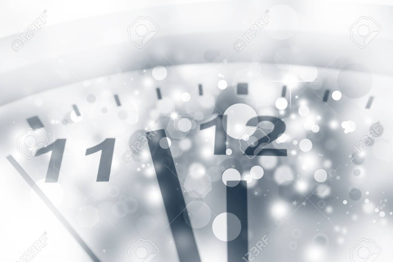 Clock face and abstract background Stock Photo - 16903320