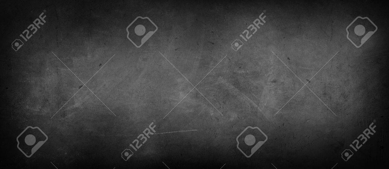 Chalk rubbed out on blackboard - 57155811