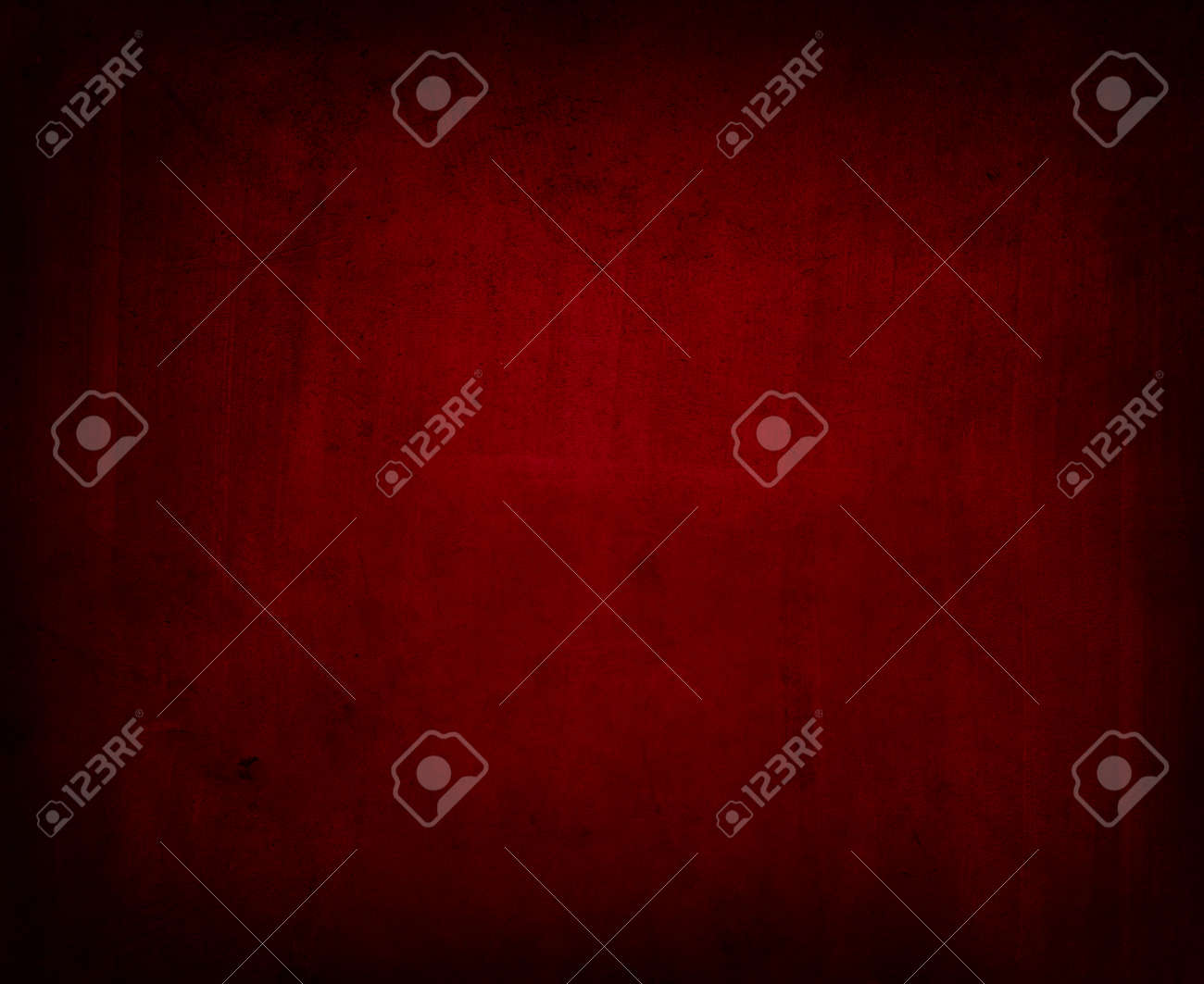 Red textured concrete wall background - 126471421